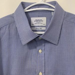 """CHARLES TYRWITT"" NEW  Dress Shirt in SIZE 18"